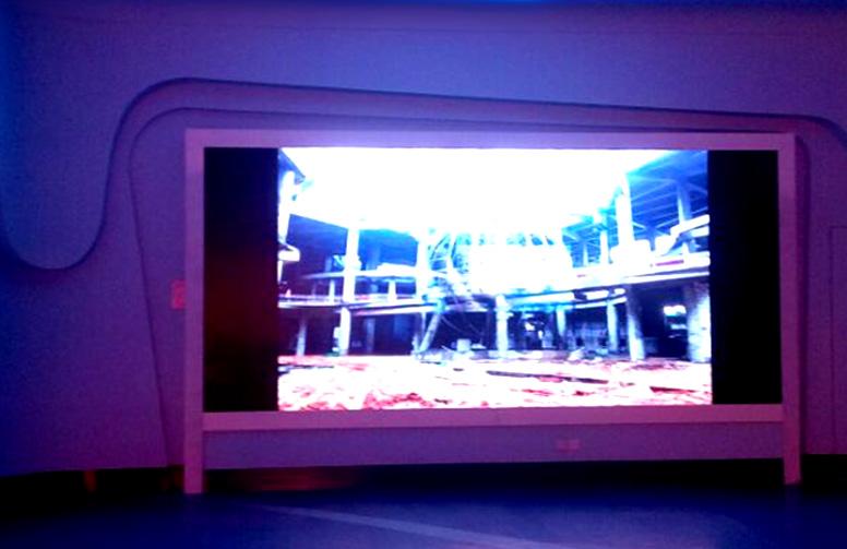 南昌市万达海洋馆Q4全彩LED显示屏