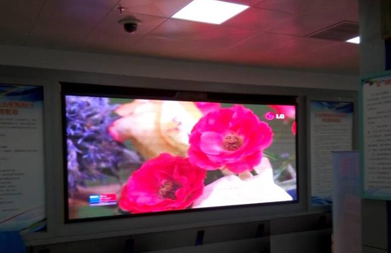 萍乡市劳动就业管理局Q5全彩LED显示屏