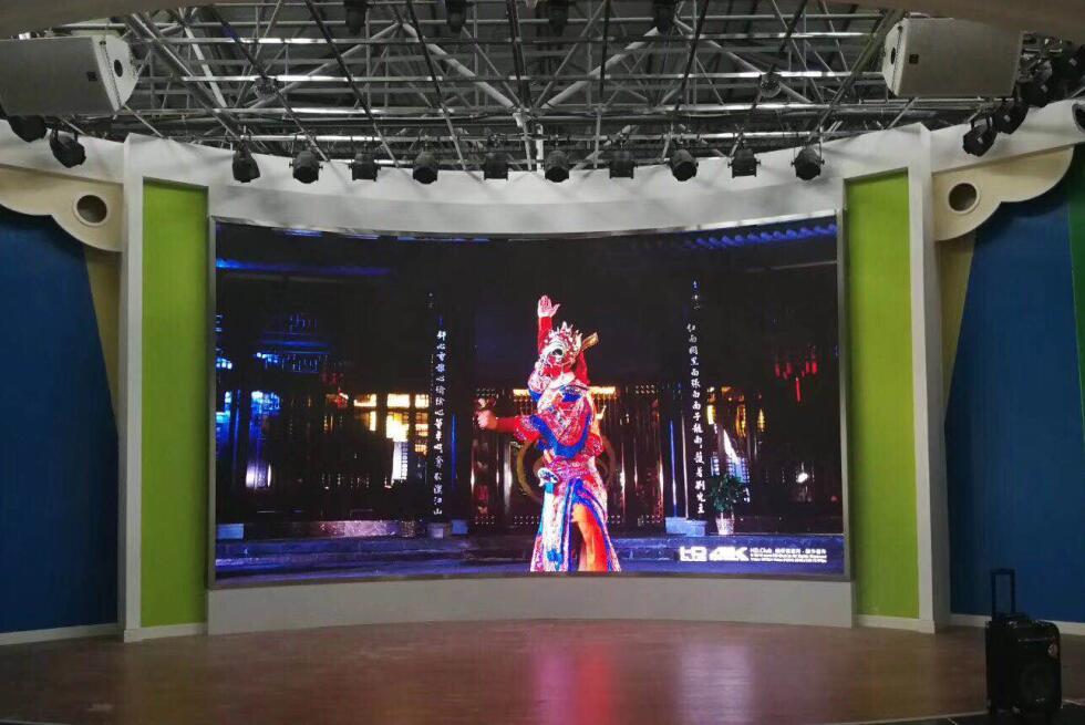 南昌LED显示屏九江市中心幼儿园 18个平方室内Q2-E