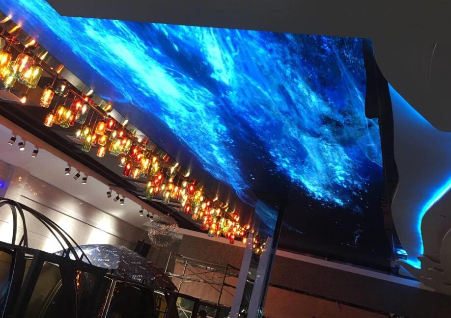 南昌LED显示屏天幕屏为Q3-E九江瑞昌市大江南酒店